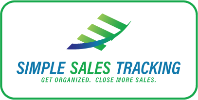 Simple Sales Tracking - Get Organized. Close more sales.