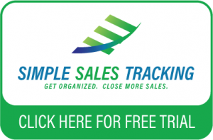 Simple Sales Tracking - Click here for free trial